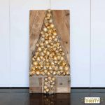 DIH Holiday Ornament Wood Pallet Virtual Party