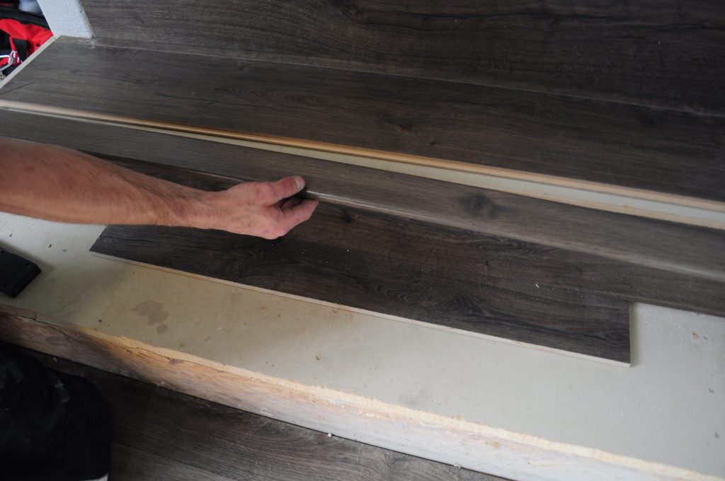 Adding Stair Nose To Laminate Flooring On Stairs