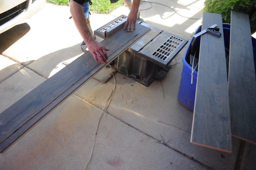 installing laminate stairs