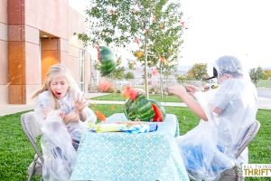 How to blow up a Watermelon, Kids' Messy Activity