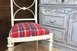 Make a Memory Chair from an Old Shirt