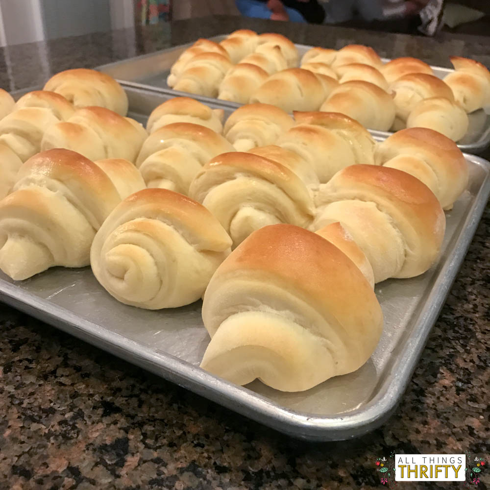 homemade rolls in 1 hour guaranteed all things thrifty