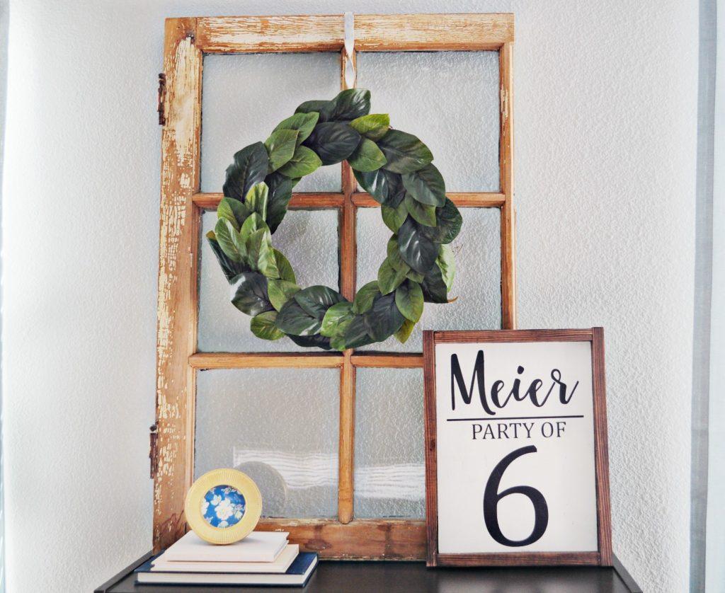 DIY Magnolia Wreath 5