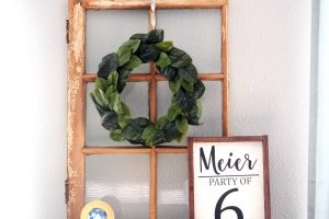 DIY MAGNOLIA WREATH FOR LESS THAN $20