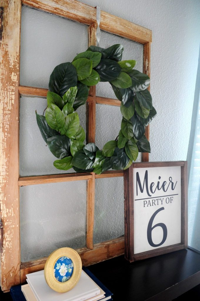 DIY magnolia wreath 6