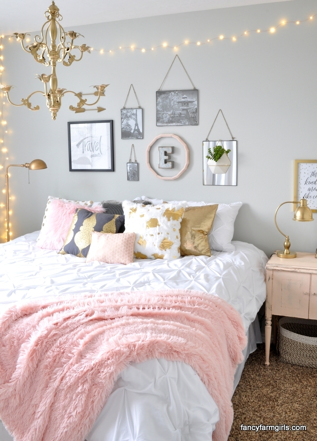 16 Colorful Girls Bedroom Ideas on Beautiful Rooms For Teenage Girls  id=54724