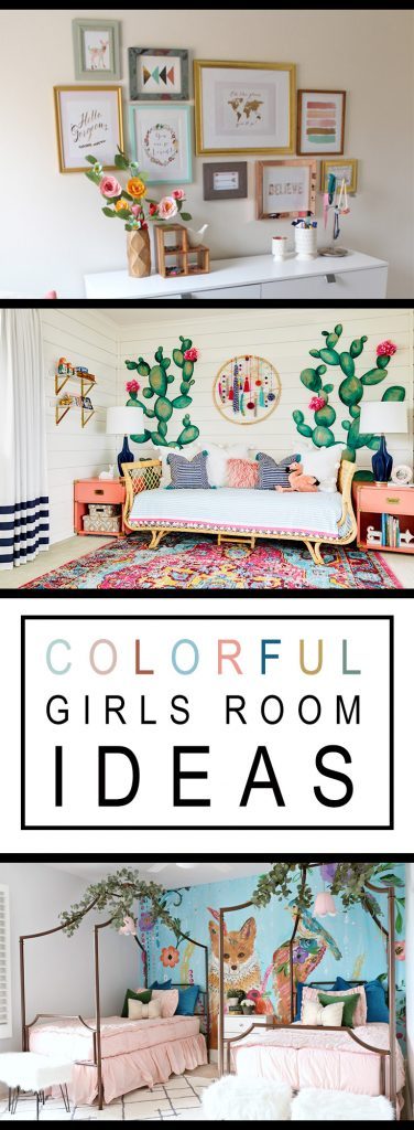 Girls Colorful Room Ideas