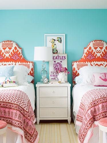 colorful headboard ideas