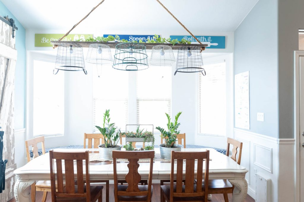Colorful Dining Room and Kitchen-32