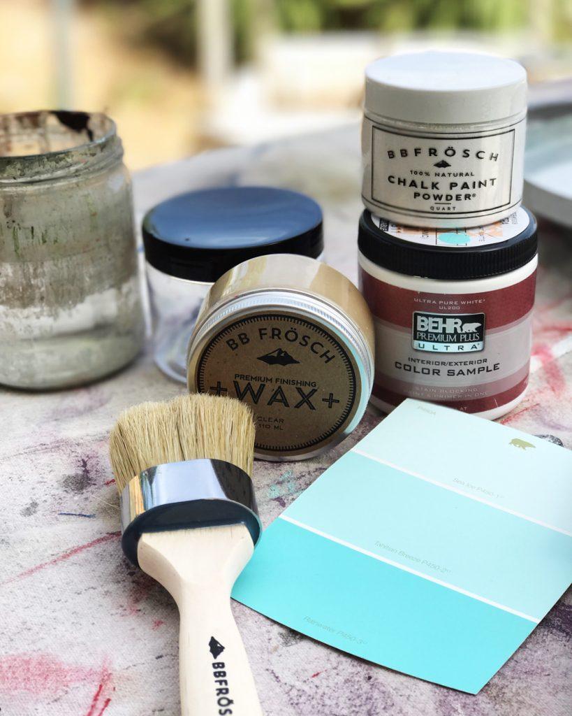 How to Chalk Paint Metal ATT #27 3a