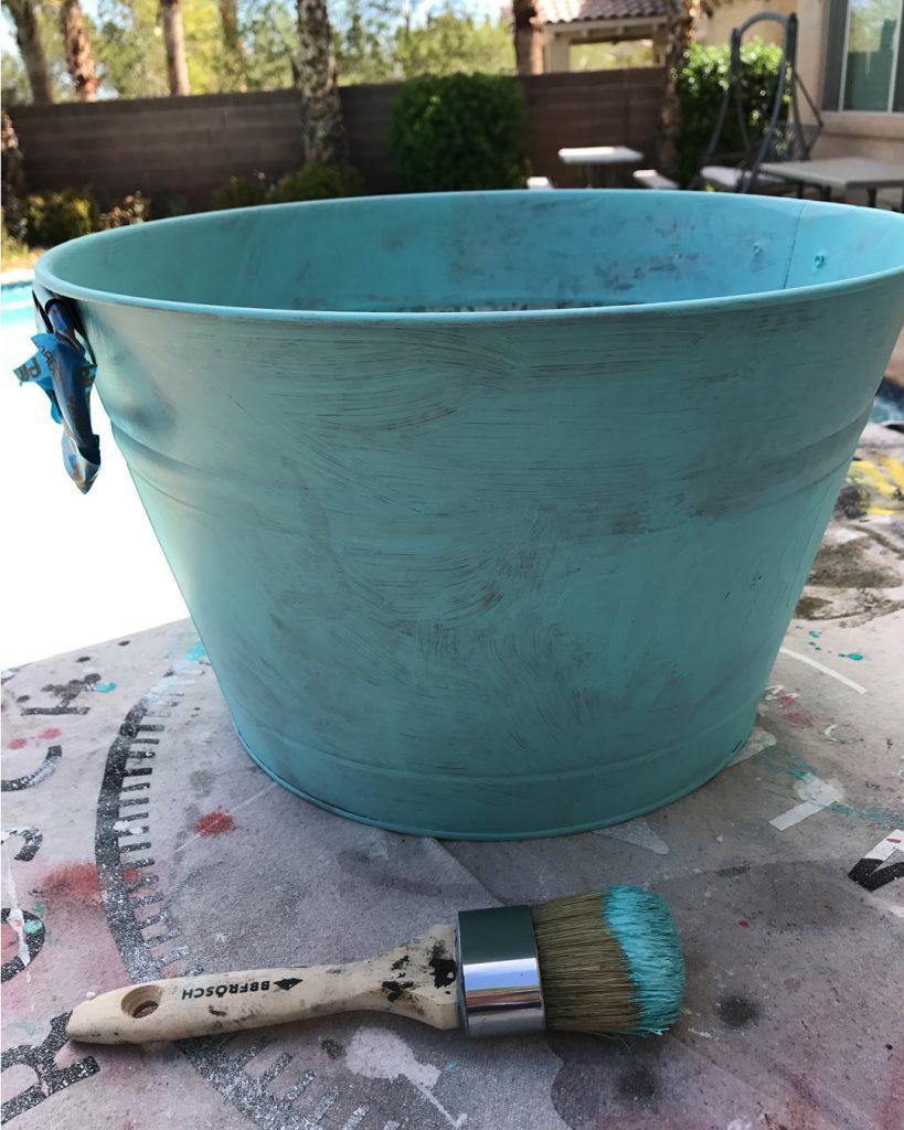 How to Chalk Paint Metal ATT #27 4