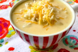 10 minute Baked Potato Soup Recipe