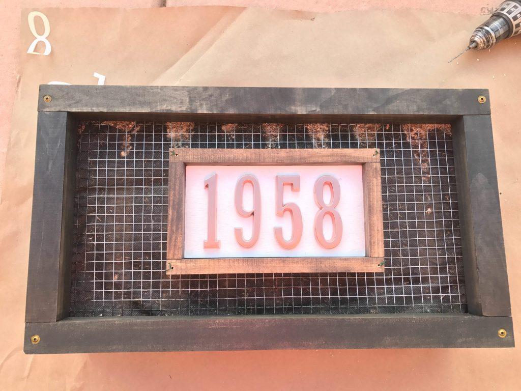 Custom House Numbers Succulent Garden-13