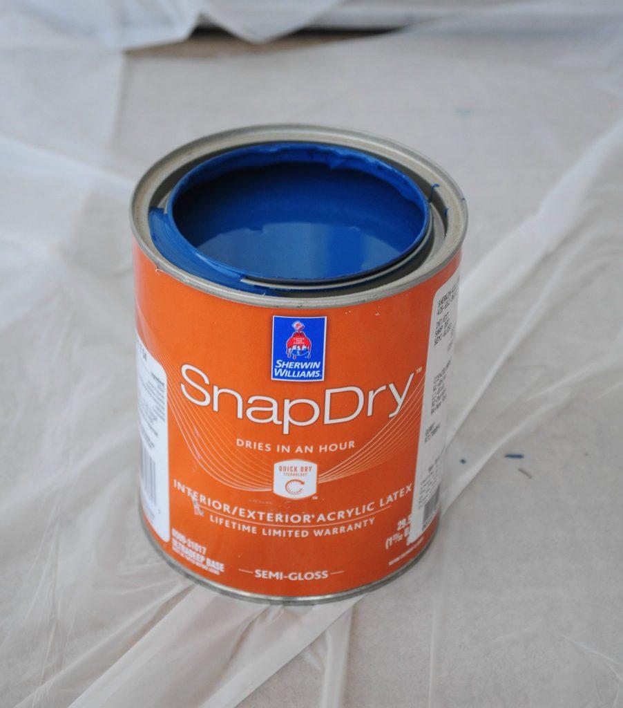 how to paint your front door 12