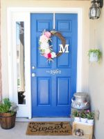How to paint your front door in a SNAP!
