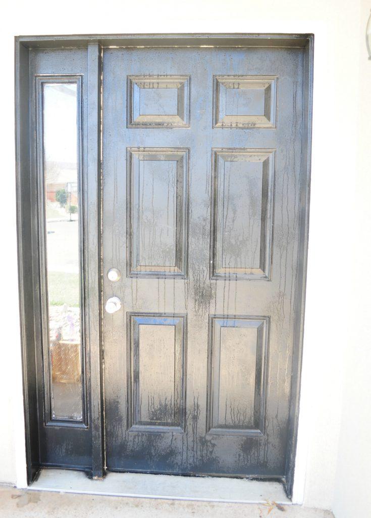 how to paint your front door 3