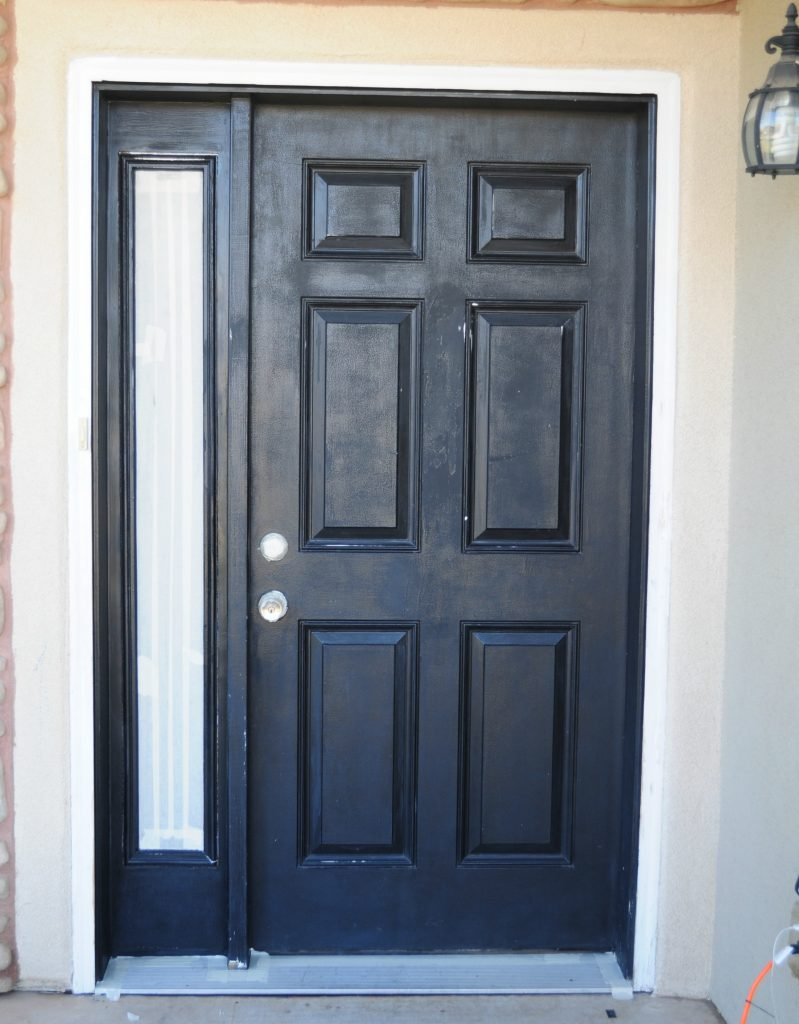How To Paint Your Front Door In A Snap