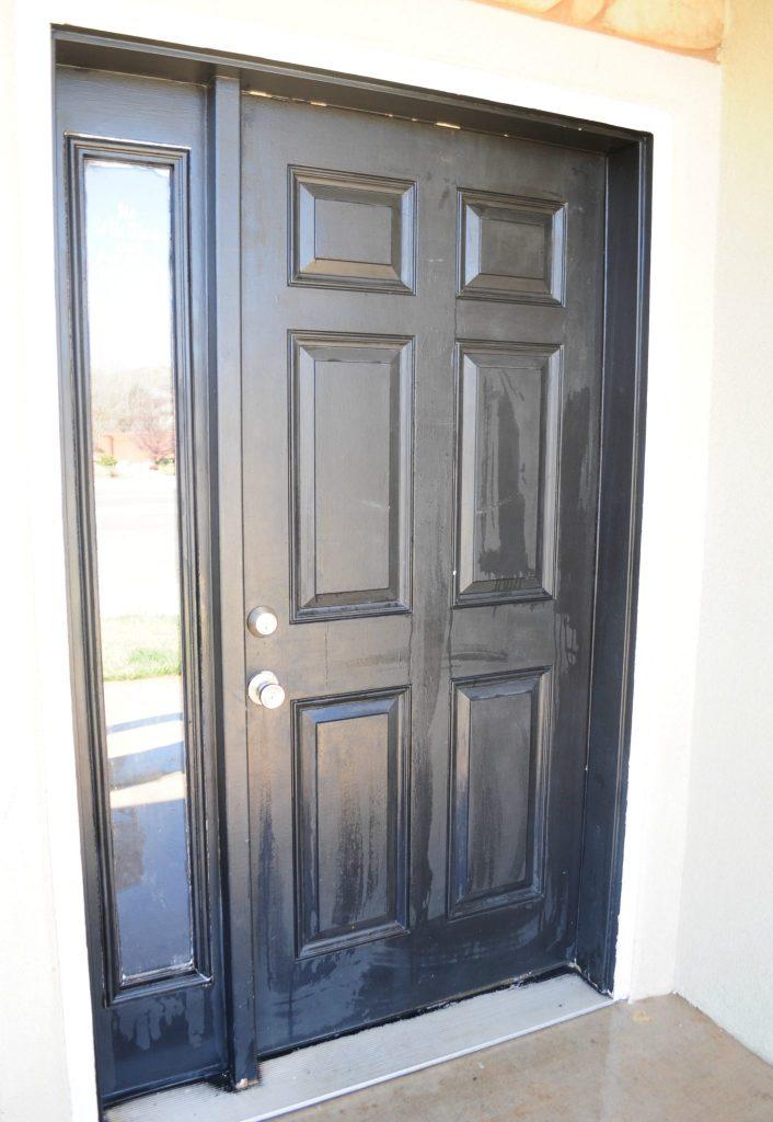 how to paint your front door 9