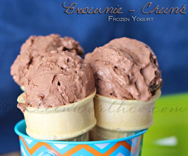 Brownie Chunk Frozen Yogurt