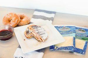 Grilled Donut Monte Cristo Sandwich