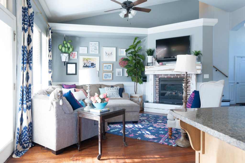 Quick Living Room Update Color Switch for less than $600. | All ...