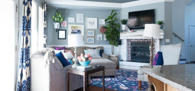 Quick Living Room Update Color Switch for less than $600.