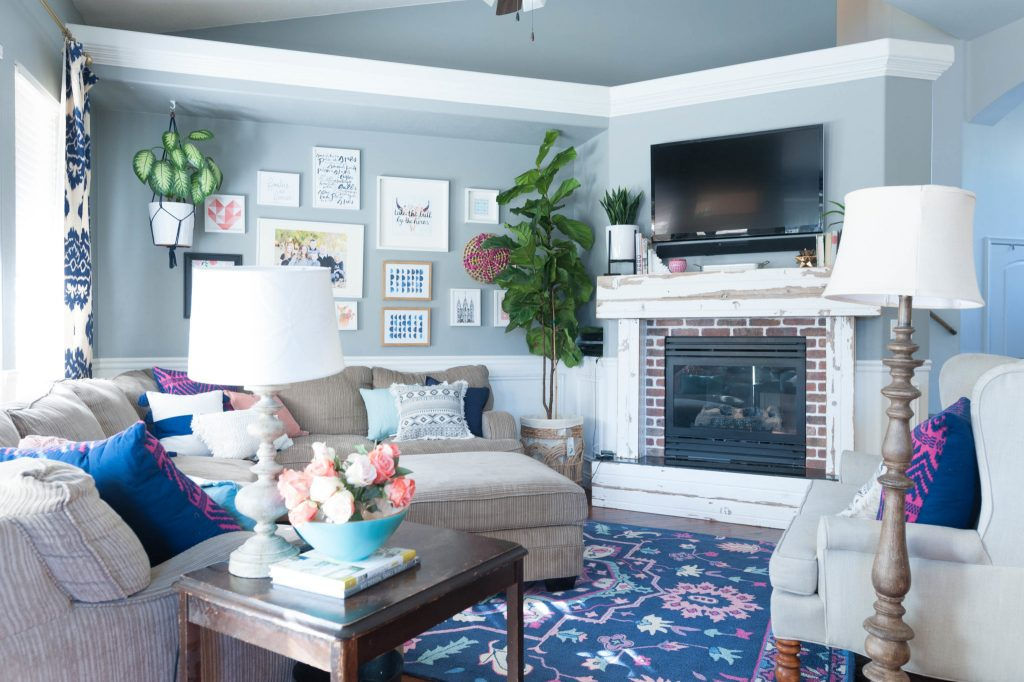 Gray and navy living room ideas medium size of living for Living room ideas navy