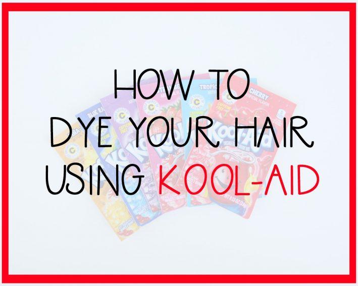 how to dye your hair using kool aid 11