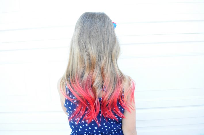 How to dye your hair using kool-aid! | All Things Thrifty