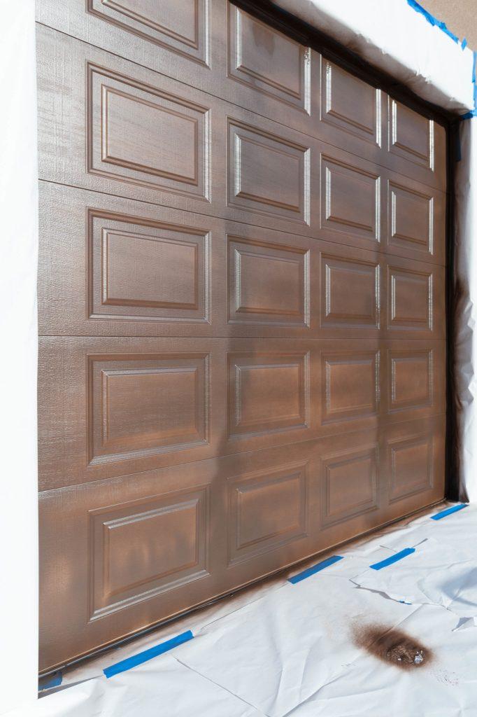How to paint a garage door tutorial-21