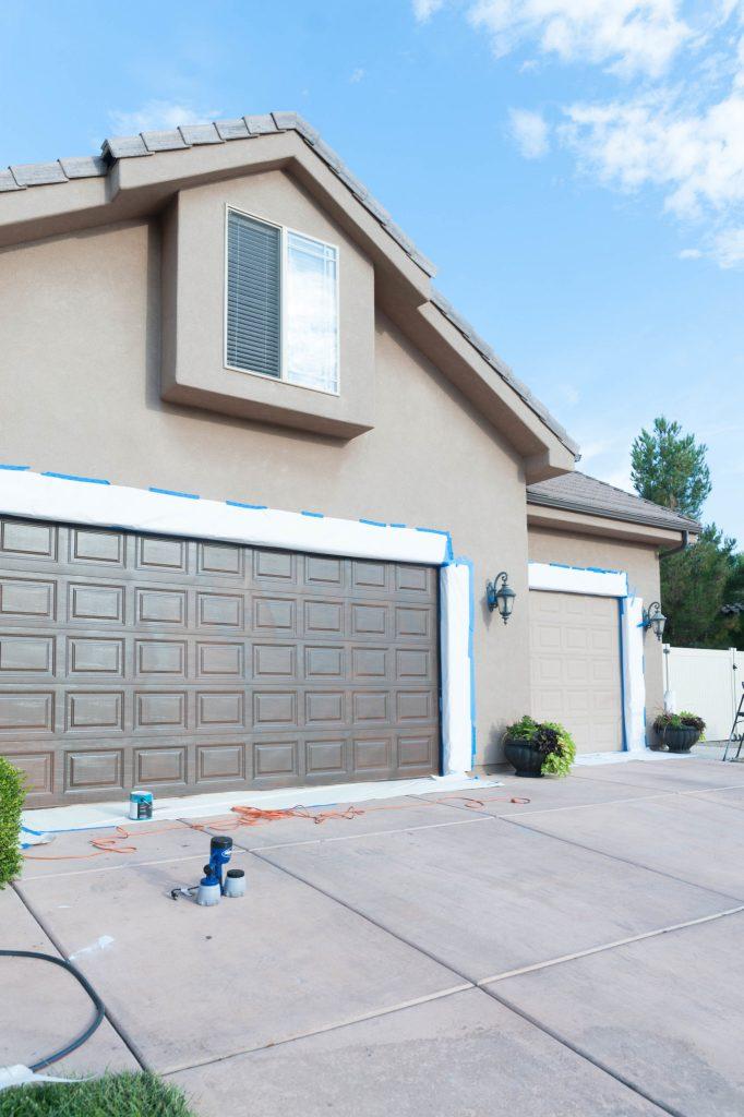 How to paint a garage door tutorial-22