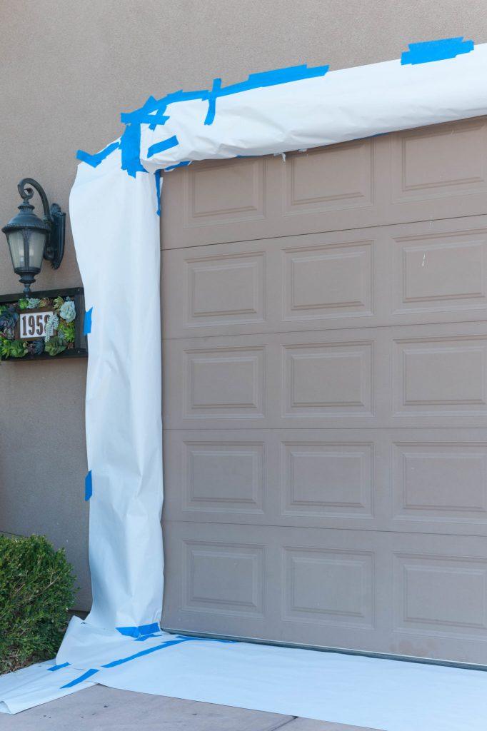 How to paint a garage door tutorial-99