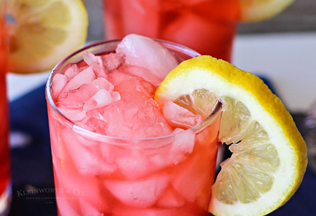 Sour Shirley Summer Drink