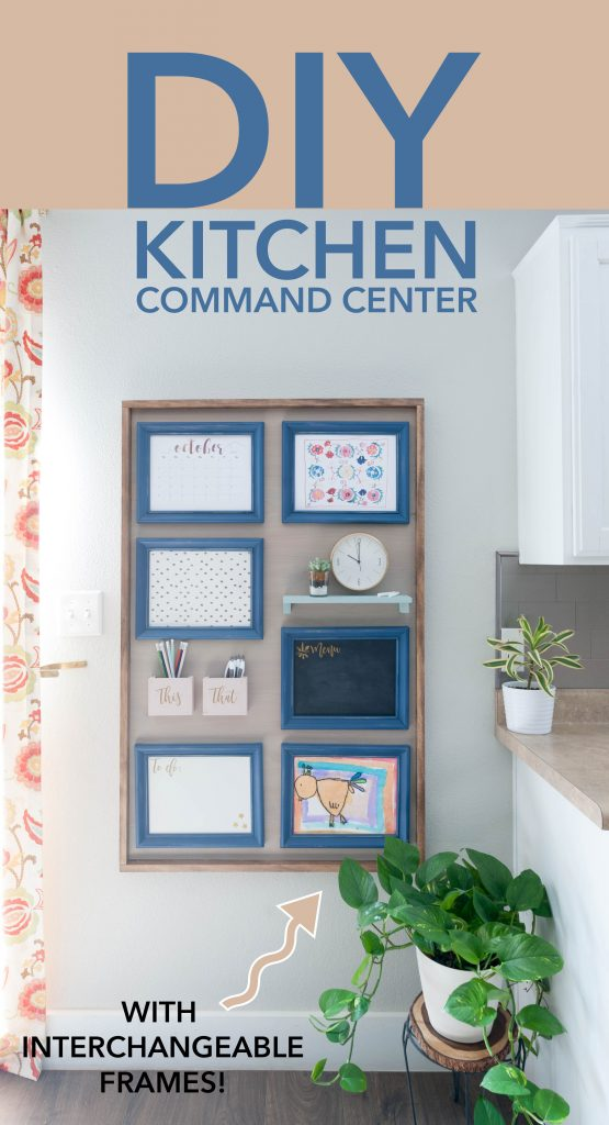 How To Build A Kitchen Command Center That Is Interchangeable | All Things  Thrifty