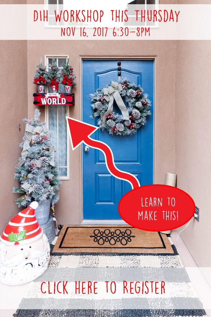 colorful christmas entryway - Is Home Depot Open On Christmas Day