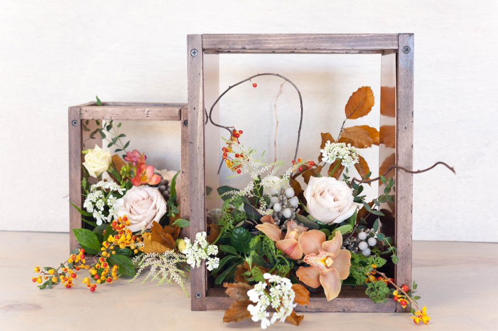 How To Make A Rustic Wood Wedding Centerpiece All Things Thrifty