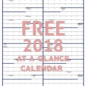 Christmas gift ideas day 4 all things thrifty for Day at a glance calendar template