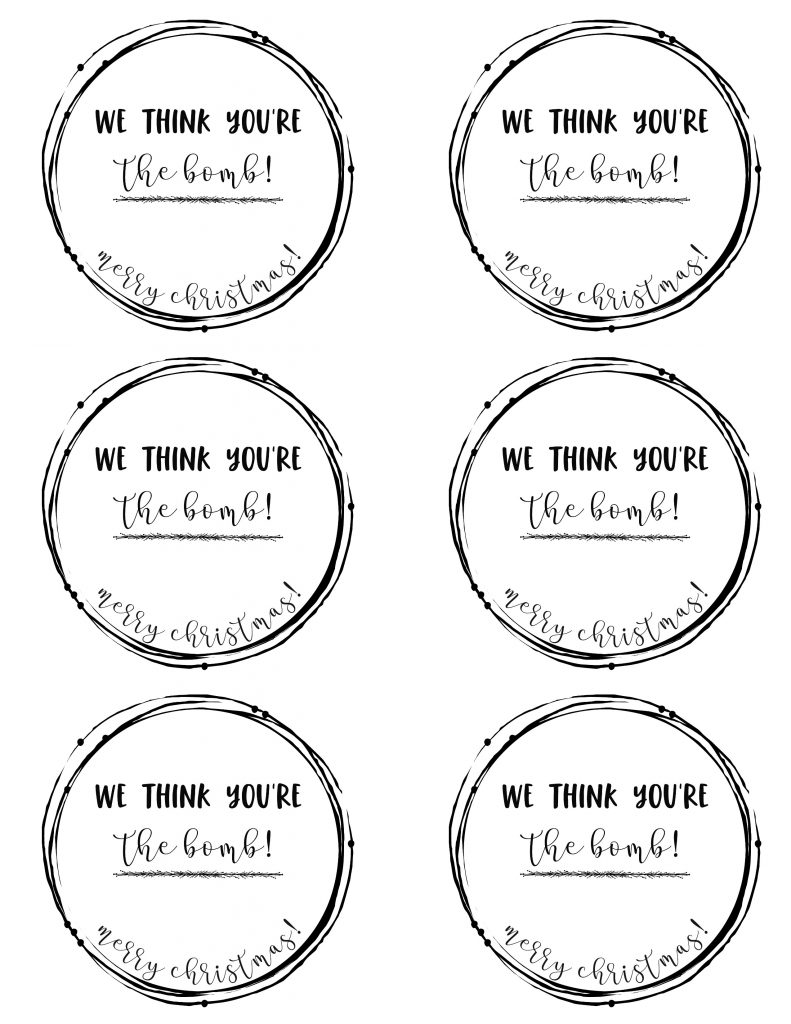 picture regarding Free Printable Teacher Gift Tags known as No cost Printables for Close friends, Neighbors, Teachersetc