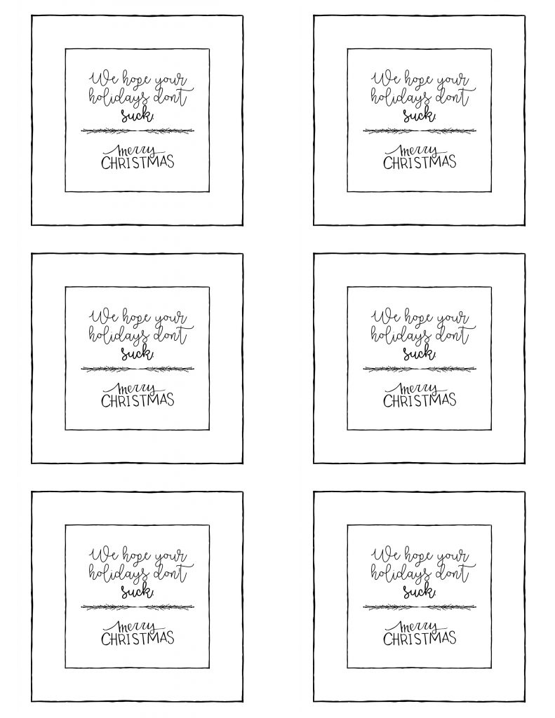 picture about Printable Gifts called Cost-free Printables for Mates, Neighbors, Teachersetc