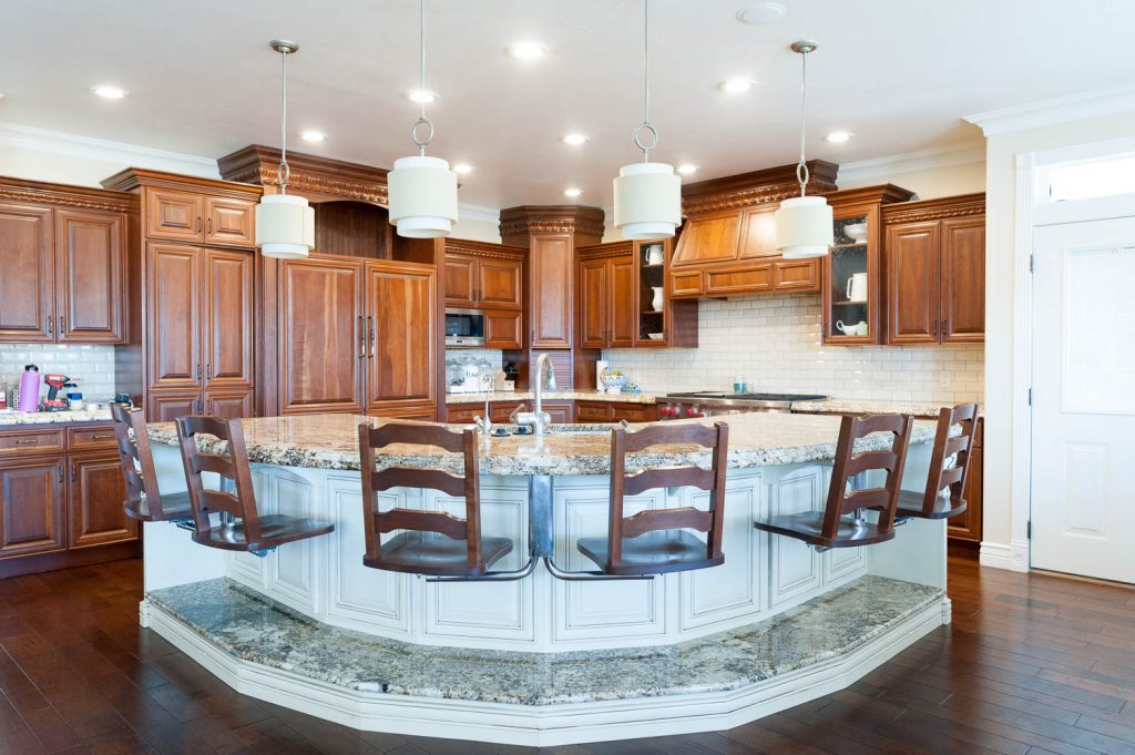 But The Entire Kitchen Seems Very Formal And Fancy To Me. And, That Isnu0027t  The Vibe That I Strive For In My Home. I Am Grateful That The Previous  Owners Had ...