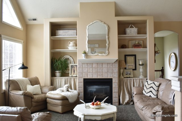 Farmhouse Living Room Makeover Reveal All Things Thrifty