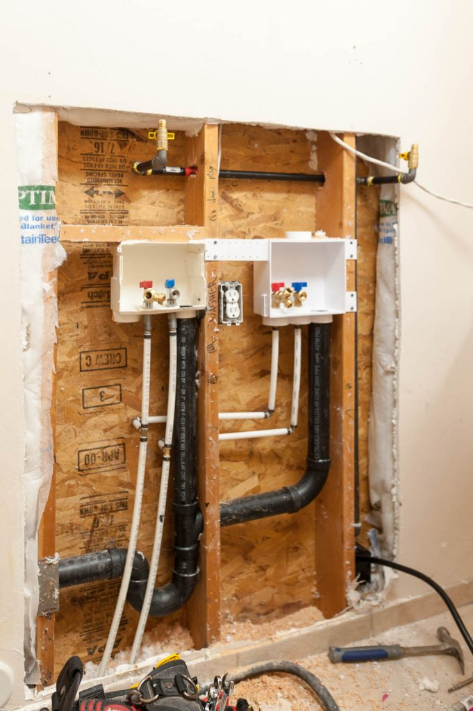 Plumbing For Double Washer And Dryer A New Trend All