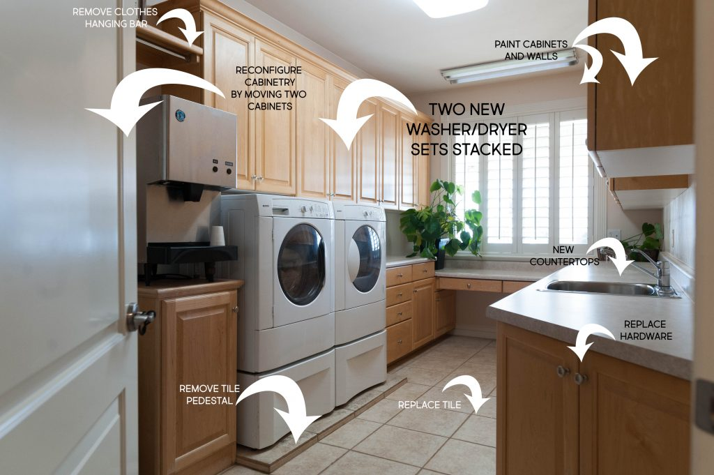 Laundry Room Makeover Plan