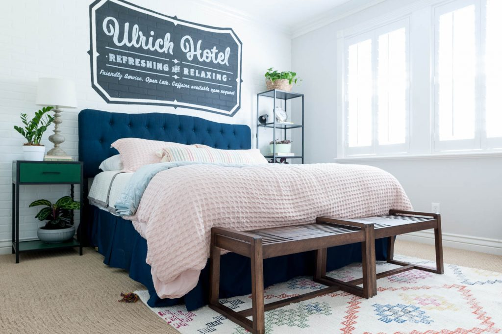 Guest Bedroom Ideas With A Hip Hotel Vibe Reveal All Things Thrifty