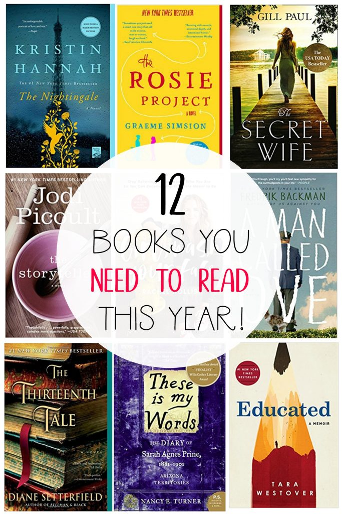 12 Books You Need To Read This Year All Things Thrifty