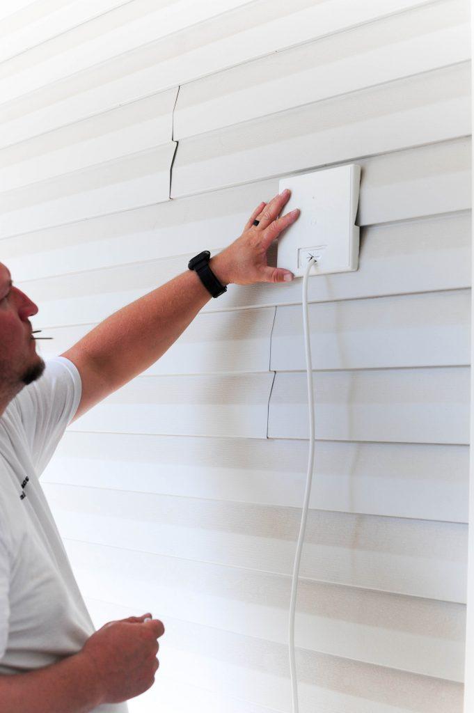 install ring doorbell 2 on vinyl siding