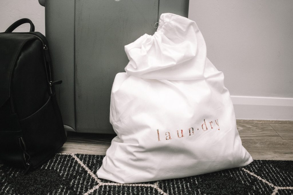 DIY Laundry Bag | All Things Thrifty