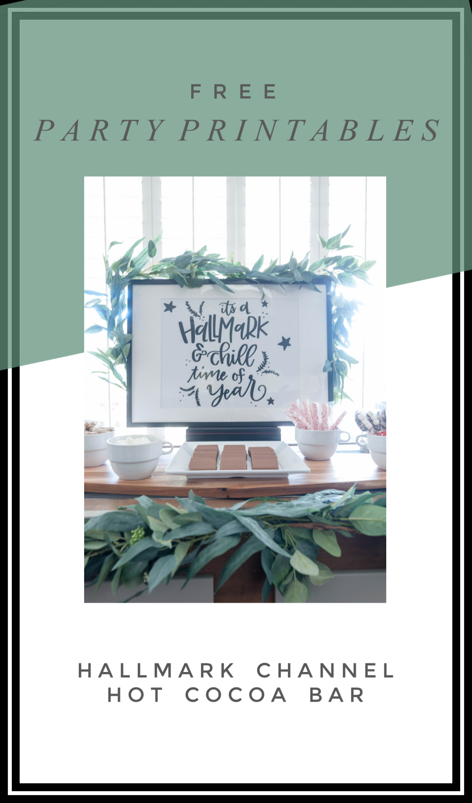 Welcome To Winter Party With Hallmark Channel All Things Thrifty