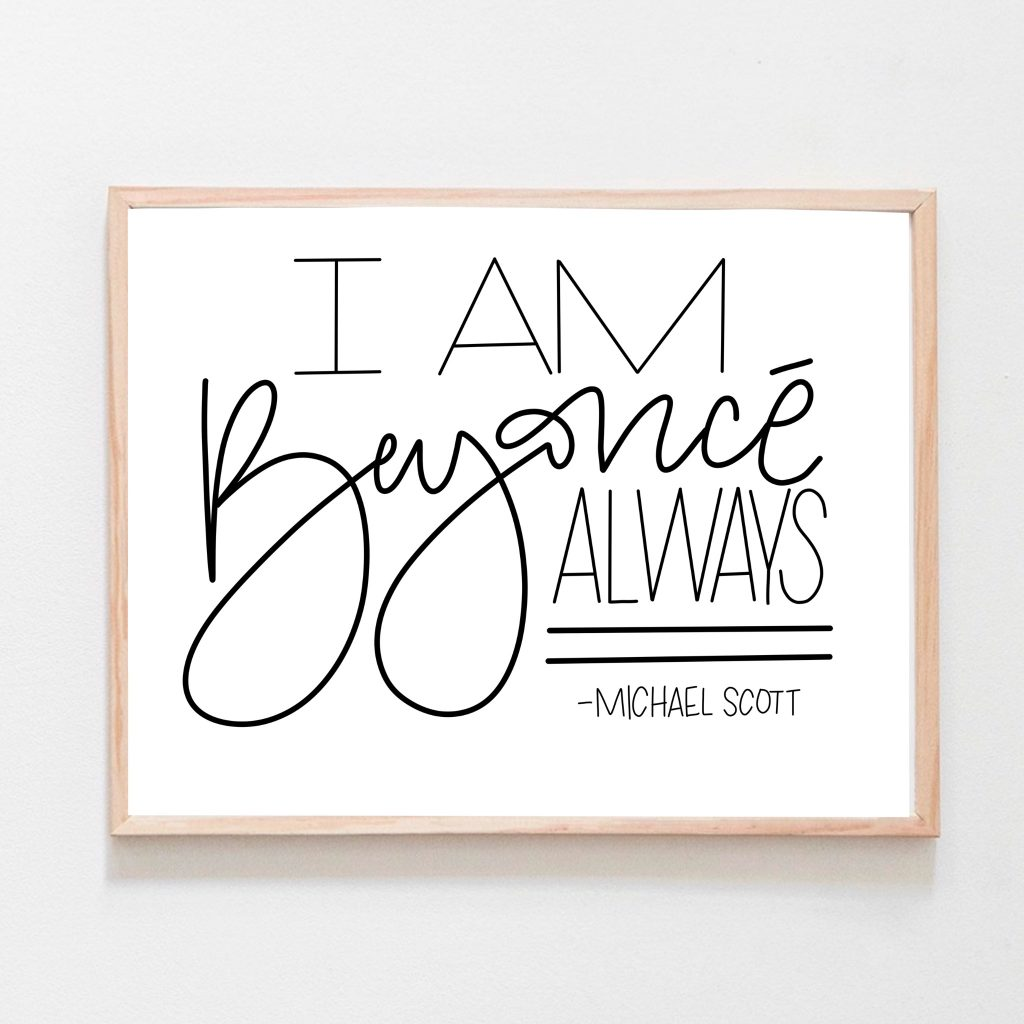 FREE PRINTABLES - The Office Quotes | All Things Thrifty
